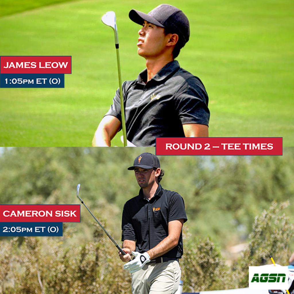 Leow and Sisk Tee Time Official Graphic Day 2