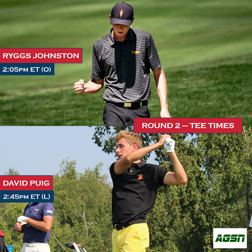 Ryggs and Puig Tee Time Graphic Round 2