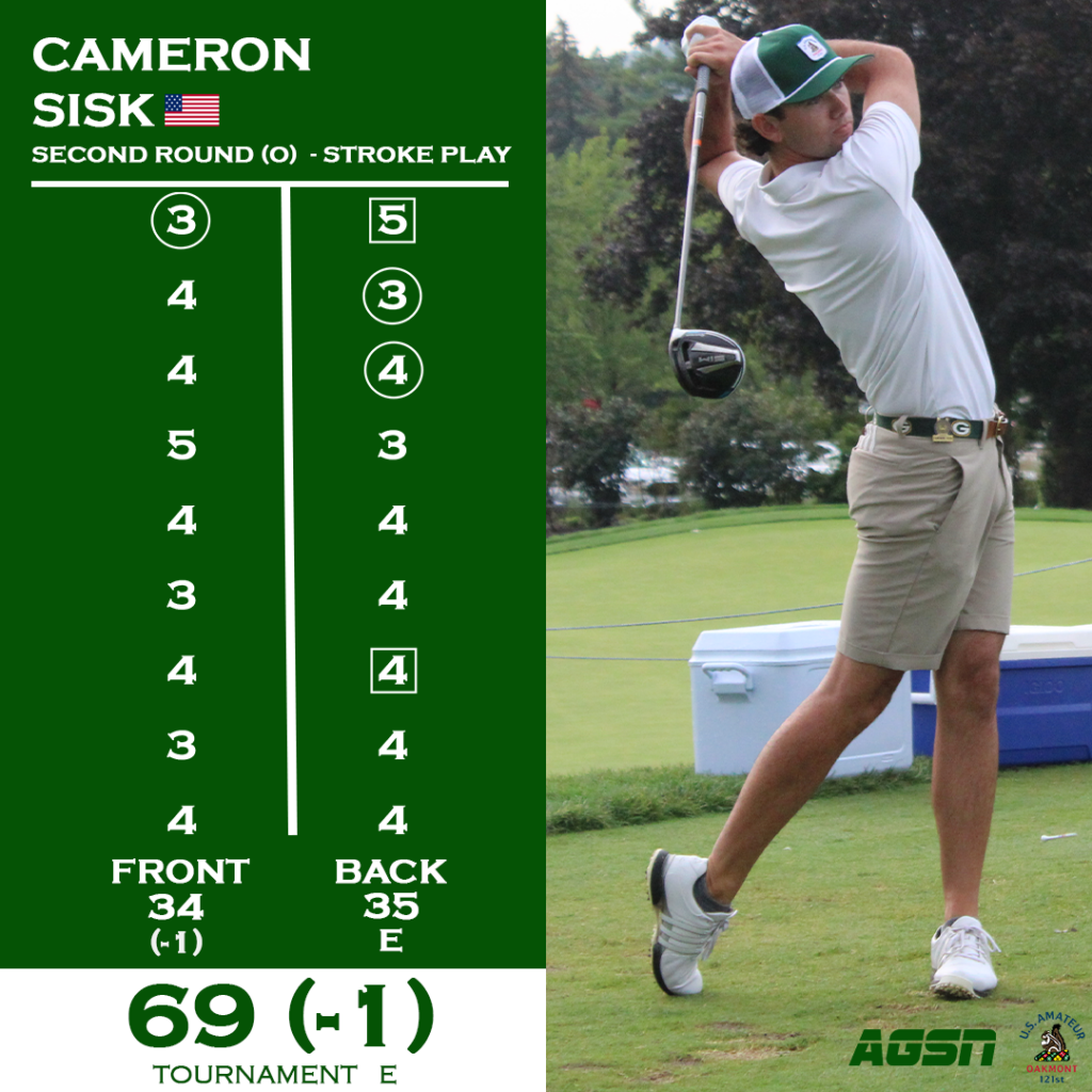 cam sisk day 2 official card